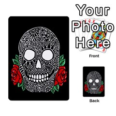 Skull&roses Card Game By Toolex   Multi Purpose Cards (rectangle)   Xvbyryfow9bg   Www Artscow Com Front 20