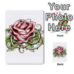 Skull&roses Card Game By Toolex   Multi Purpose Cards (rectangle)   Xvbyryfow9bg   Www Artscow Com Front 25