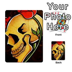 Skull&roses Card Game By Toolex   Multi Purpose Cards (rectangle)   Xvbyryfow9bg   Www Artscow Com Front 44