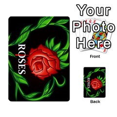 Skull&roses Card Game By Toolex   Multi Purpose Cards (rectangle)   Xvbyryfow9bg   Www Artscow Com Back 50