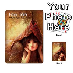 Fairy Tale 02 By Michael Mifsud   Multi Purpose Cards (rectangle)   Adebcjy9syl3   Www Artscow Com Back 48