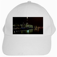 The Shard And Southbank London White Baseball Cap by Londonimages