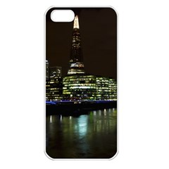 The Shard and Southbank London Apple iPhone 5 Seamless Case (White)