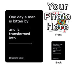 Cah1 By Justin   Multi Purpose Cards (rectangle)   D9im1owh5oo9   Www Artscow Com Front 51