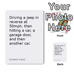 Cah1 By Justin   Multi Purpose Cards (rectangle)   D9im1owh5oo9   Www Artscow Com Front 35