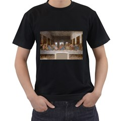 Lastsupper Black Mens'' T Shirt by classicbackpacks