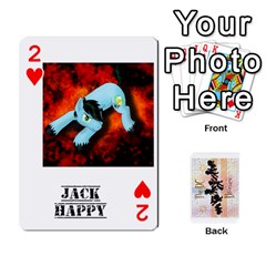 D C  Brony Oc Playing Cards By John H Rhodes Jr    Playing Cards 54 Designs   G5v18ymuvsx5   Www Artscow Com Front - Heart2