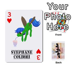 D C  Brony Oc Playing Cards By John H Rhodes Jr    Playing Cards 54 Designs   G5v18ymuvsx5   Www Artscow Com Front - Heart3