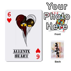 D C  Brony Oc Playing Cards By John H Rhodes Jr    Playing Cards 54 Designs   G5v18ymuvsx5   Www Artscow Com Front - Heart6