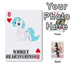 D C  Brony Oc Playing Cards By John H Rhodes Jr    Playing Cards 54 Designs   G5v18ymuvsx5   Www Artscow Com Front - Heart8