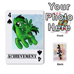 D C  Brony Oc Playing Cards By John H Rhodes Jr    Playing Cards 54 Designs   G5v18ymuvsx5   Www Artscow Com Front - Spade4