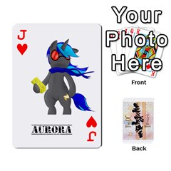 Jack D C  Brony Oc Playing Cards By John H Rhodes Jr    Playing Cards 54 Designs   G5v18ymuvsx5   Www Artscow Com Front - HeartJ