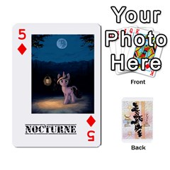 D C  Brony Oc Playing Cards By John H Rhodes Jr    Playing Cards 54 Designs   G5v18ymuvsx5   Www Artscow Com Front - Diamond5