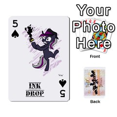 D C  Brony Oc Playing Cards By John H Rhodes Jr    Playing Cards 54 Designs   G5v18ymuvsx5   Www Artscow Com Front - Spade5
