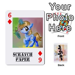 D C  Brony Oc Playing Cards By John H Rhodes Jr    Playing Cards 54 Designs   G5v18ymuvsx5   Www Artscow Com Front - Diamond6
