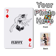 D C  Brony Oc Playing Cards By John H Rhodes Jr    Playing Cards 54 Designs   G5v18ymuvsx5   Www Artscow Com Front - Diamond7