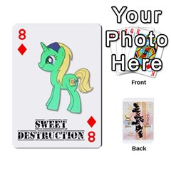 D C  Brony Oc Playing Cards By John H Rhodes Jr    Playing Cards 54 Designs   G5v18ymuvsx5   Www Artscow Com Front - Diamond8