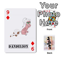 D C  Brony Oc Playing Cards By John H Rhodes Jr    Playing Cards 54 Designs   G5v18ymuvsx5   Www Artscow Com Front - Diamond9