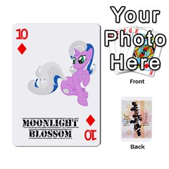 D C  Brony Oc Playing Cards By John H Rhodes Jr    Playing Cards 54 Designs   G5v18ymuvsx5   Www Artscow Com Front - Diamond10