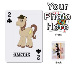 D C  Brony Oc Playing Cards By John H Rhodes Jr    Playing Cards 54 Designs   G5v18ymuvsx5   Www Artscow Com Front - Club2