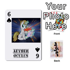 D C  Brony Oc Playing Cards By John H Rhodes Jr    Playing Cards 54 Designs   G5v18ymuvsx5   Www Artscow Com Front - Spade6