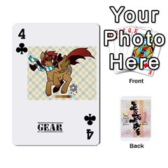 D C  Brony Oc Playing Cards By John H Rhodes Jr    Playing Cards 54 Designs   G5v18ymuvsx5   Www Artscow Com Front - Club4