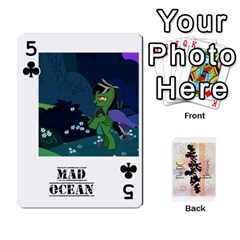 D C  Brony Oc Playing Cards By John H Rhodes Jr    Playing Cards 54 Designs   G5v18ymuvsx5   Www Artscow Com Front - Club5