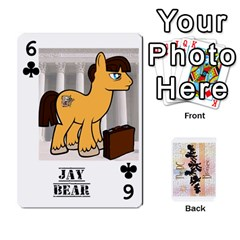 D C  Brony Oc Playing Cards By John H Rhodes Jr    Playing Cards 54 Designs   G5v18ymuvsx5   Www Artscow Com Front - Club6