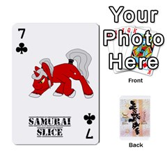 D C  Brony Oc Playing Cards By John H Rhodes Jr    Playing Cards 54 Designs   G5v18ymuvsx5   Www Artscow Com Front - Club7