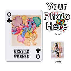 Queen D C  Brony Oc Playing Cards By John H Rhodes Jr    Playing Cards 54 Designs   G5v18ymuvsx5   Www Artscow Com Front - ClubQ