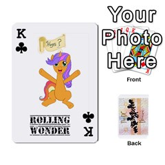 King D C  Brony Oc Playing Cards By John H Rhodes Jr    Playing Cards 54 Designs   G5v18ymuvsx5   Www Artscow Com Front - ClubK