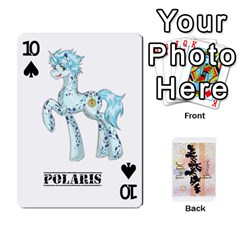D C  Brony Oc Playing Cards By John H Rhodes Jr    Playing Cards 54 Designs   G5v18ymuvsx5   Www Artscow Com Front - Spade10