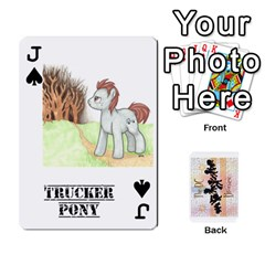 Jack D C  Brony Oc Playing Cards By John H Rhodes Jr    Playing Cards 54 Designs   G5v18ymuvsx5   Www Artscow Com Front - SpadeJ