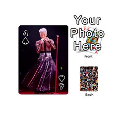 Ball By Rachel Fong   Playing Cards 54 (mini)   K8szt5tstmeg   Www Artscow Com Front - Spade4