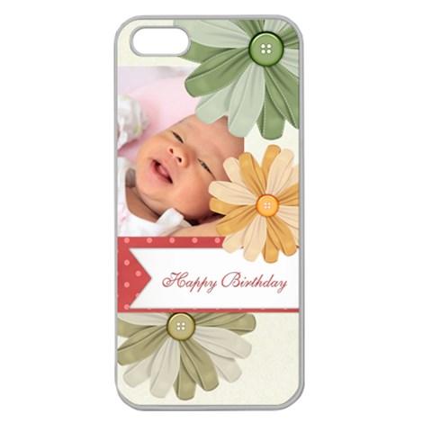 Happy Birthday By Happy Birthday   Apple Seamless Iphone 5 Case (clear)   G1wyqeaz2akm   Www Artscow Com Front
