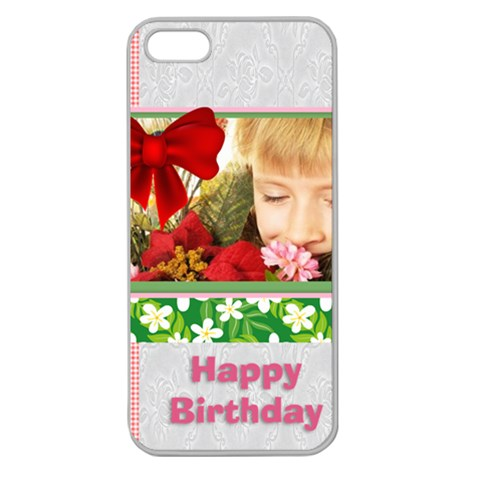 Happy Birthday By Happy Birthday   Apple Seamless Iphone 5 Case (clear)   M7b3x20xe5nm   Www Artscow Com Front