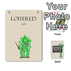 Word Salad, 2/2 By Ian   Playing Cards 54 Designs   Q5r1duuuk23y   Www Artscow Com Front - Heart6