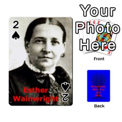 Ancestor Cards W/ Everyone By Darin Kerr   Playing Cards 54 Designs   15zv6fcny6zl   Www Artscow Com Front - Spade2