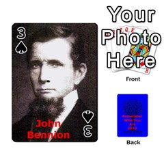 Ancestor Cards W/ Everyone By Darin Kerr   Playing Cards 54 Designs   15zv6fcny6zl   Www Artscow Com Front - Spade3