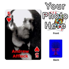 Ancestor Cards W/ Everyone By Darin Kerr   Playing Cards 54 Designs   15zv6fcny6zl   Www Artscow Com Front - Heart5