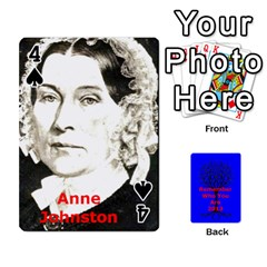 Ancestor Cards W/ Everyone By Darin Kerr   Playing Cards 54 Designs   15zv6fcny6zl   Www Artscow Com Front - Spade4