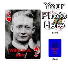 Jack Ancestor Cards W/ Everyone By Darin Kerr   Playing Cards 54 Designs   15zv6fcny6zl   Www Artscow Com Front - HeartJ