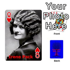 Queen Ancestor Cards W/ Everyone By Darin Kerr   Playing Cards 54 Designs   15zv6fcny6zl   Www Artscow Com Front - HeartQ