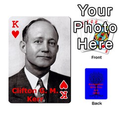 King Ancestor Cards W/ Everyone By Darin Kerr   Playing Cards 54 Designs   15zv6fcny6zl   Www Artscow Com Front - HeartK