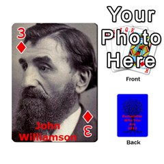 Ancestor Cards W/ Everyone By Darin Kerr   Playing Cards 54 Designs   15zv6fcny6zl   Www Artscow Com Front - Diamond3