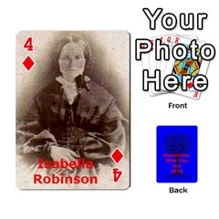 Ancestor Cards W/ Everyone By Darin Kerr   Playing Cards 54 Designs   15zv6fcny6zl   Www Artscow Com Front - Diamond4