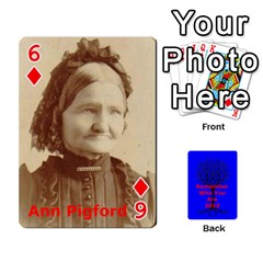 Ancestor Cards W/ Everyone By Darin Kerr   Playing Cards 54 Designs   15zv6fcny6zl   Www Artscow Com Front - Diamond6