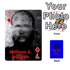 Ancestor Cards W/ Everyone By Darin Kerr   Playing Cards 54 Designs   15zv6fcny6zl   Www Artscow Com Front - Diamond7
