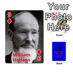 Ancestor Cards W/ Everyone By Darin Kerr   Playing Cards 54 Designs   15zv6fcny6zl   Www Artscow Com Front - Diamond9