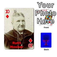 Ancestor Cards W/ Everyone By Darin Kerr   Playing Cards 54 Designs   15zv6fcny6zl   Www Artscow Com Front - Diamond10
